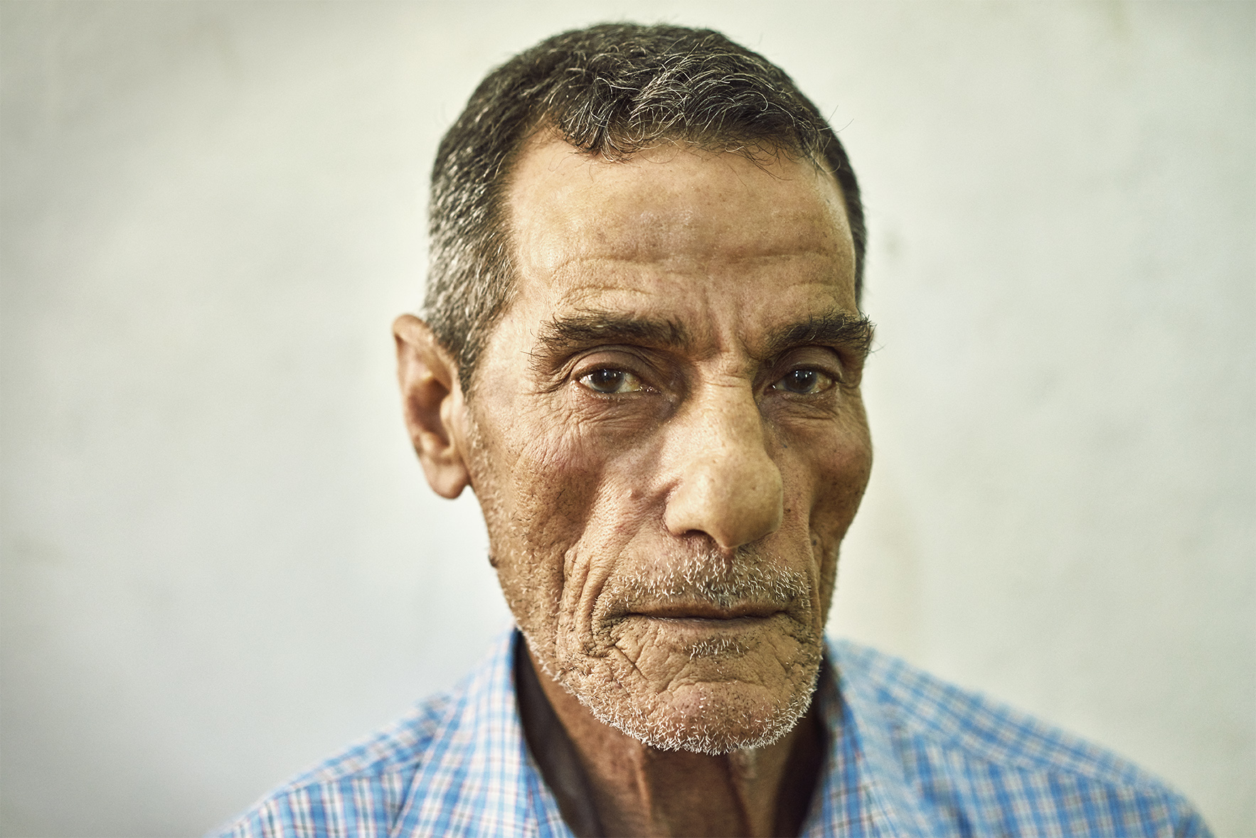 Palestinian Guy Portrait